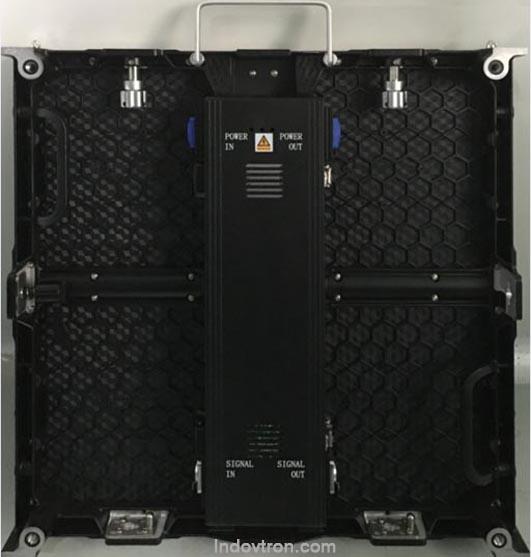 videotron P4,81 SMD2121 indoor Die-casting aluminum cabinet back khusus dalam ruangan